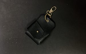 Cain key pouch black